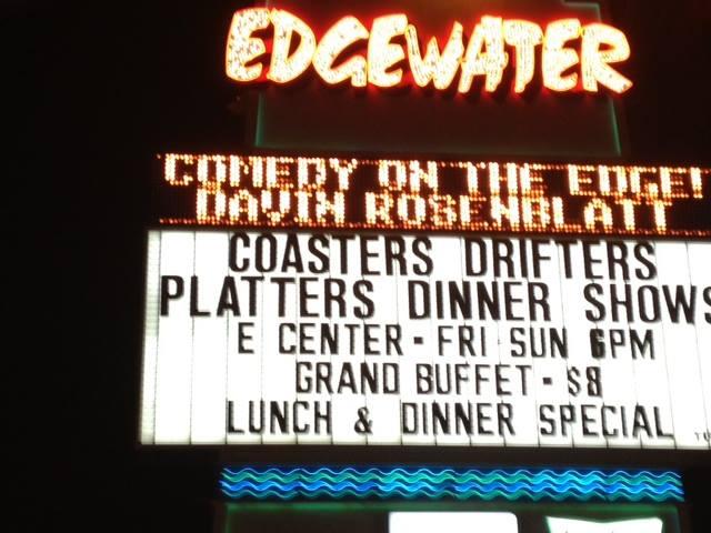 Edgewater Casino Coasters