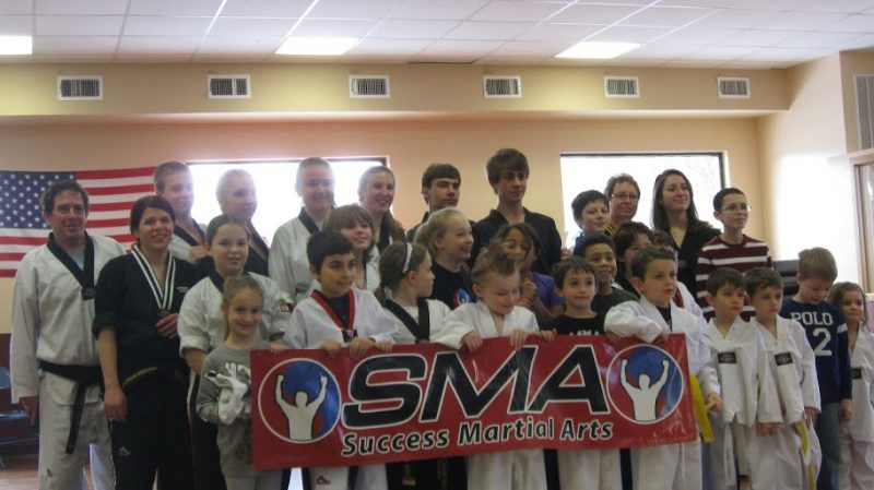 Success Martial Arts Board Break