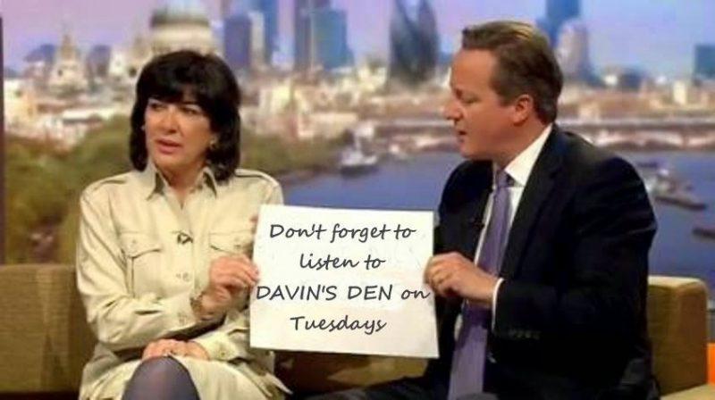 LISTEN TO DAVIN'S DEN