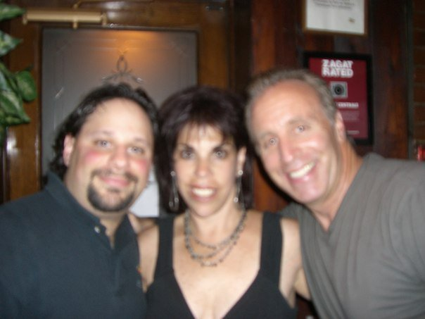 With Linda Belt and Vic Dibitetto